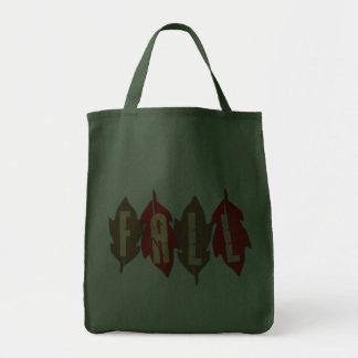 Caída en las hojas bolsa