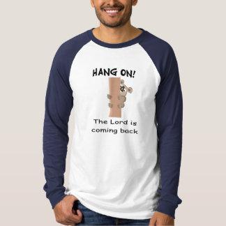 ¡Caída encendido! El señor es artículo de vuelta Camisas