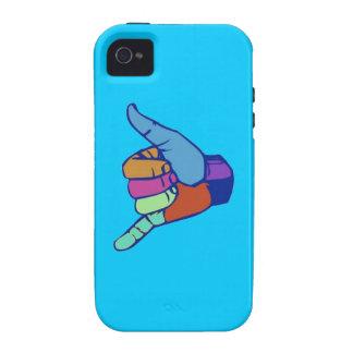 caída floja/shaka Case-Mate iPhone 4 carcasa