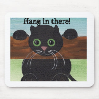 Caída insegura adentro allí, gatito mouse pads