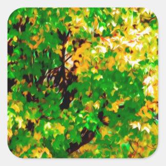 Caída Leaves jpg Pegatinas