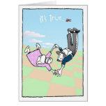 Caída libre tarjeta
