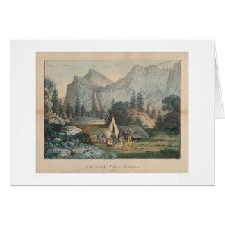 Caída nupcial del velo, Yosemite (1303) Tarjeta De Felicitación