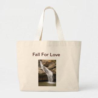 Caída para el bolso de mano del amor