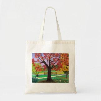 Caída para el bolso del otoño bolsa tela barata