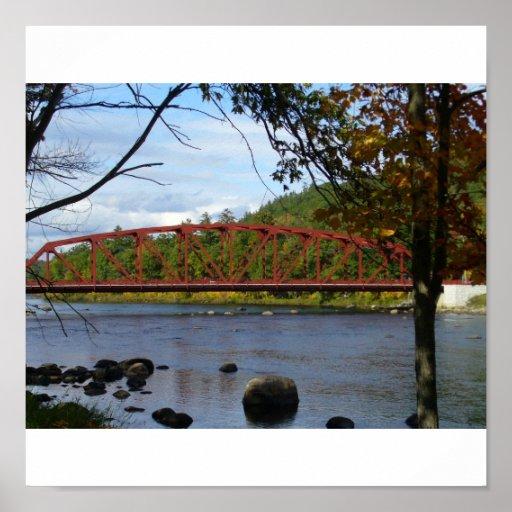 caída por el río - modificado para requisitos part póster