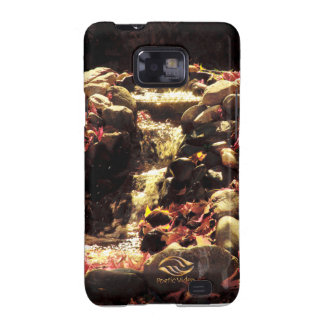 Caída Vermont de la cascada del jardín Samsung Galaxy S2 Carcasa