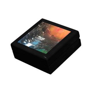 Caídas brillantes cajas de recuerdo