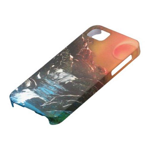Caídas brillantes iPhone 5 carcasa
