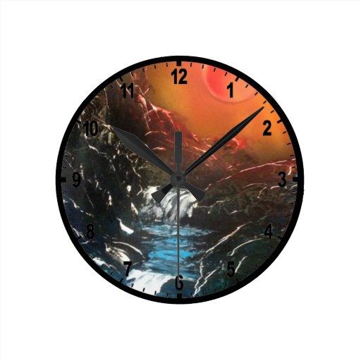 Caídas brillantes relojes
