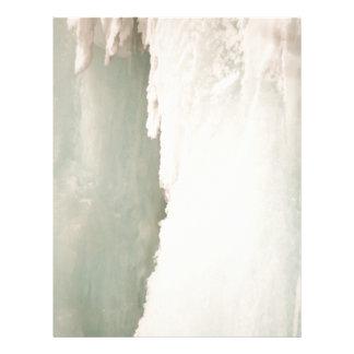 Caídas congeladas 2 plantillas de membrete