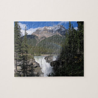 Caídas de Athabasca, parque nacional de jaspe Puzzle