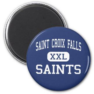 Caídas de Croix del santo - santos - caídas de Cro Imán Redondo 5 Cm