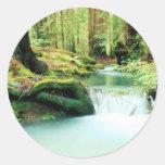 Caídas de Green River Etiquetas Redondas