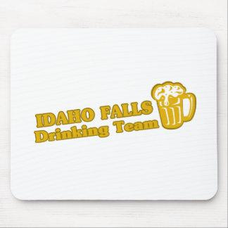 Caídas de Idaho que beben las camisetas del equipo Alfombrilla De Raton
