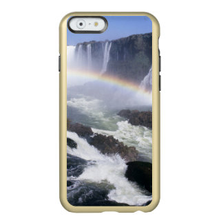 Caídas de Iguassu, estado de Paraná, el Brasil. Funda Para iPhone 6 Plus Incipio Feather Shine