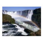 Caídas de Iguassu, estado de Paraná, el Brasil. Vi Postal