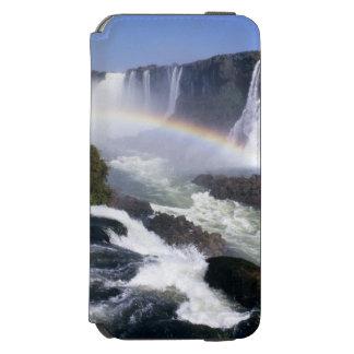 Caídas de Iguassu, estado de Paraná, el Brasil. Funda Cartera Para iPhone 6 Watson