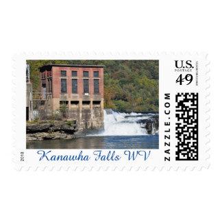 Caídas de Kanawha, Rt. 60, sello de WV