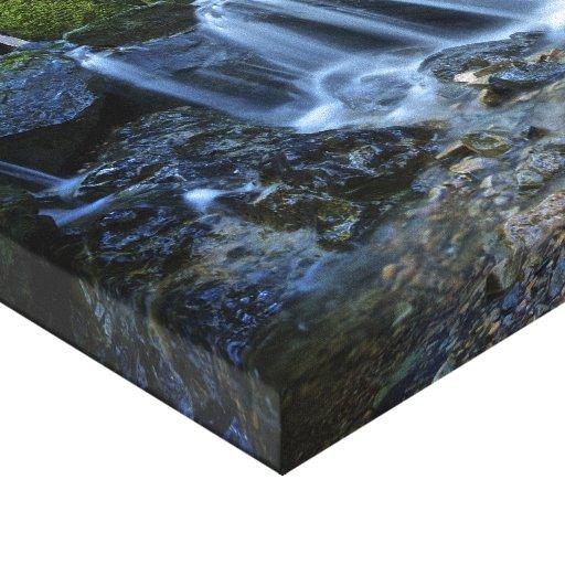 Caídas de la catarata - lona impresiones en lona estiradas
