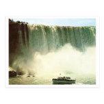 Caídas de la herradura del vintage tarjeta postal