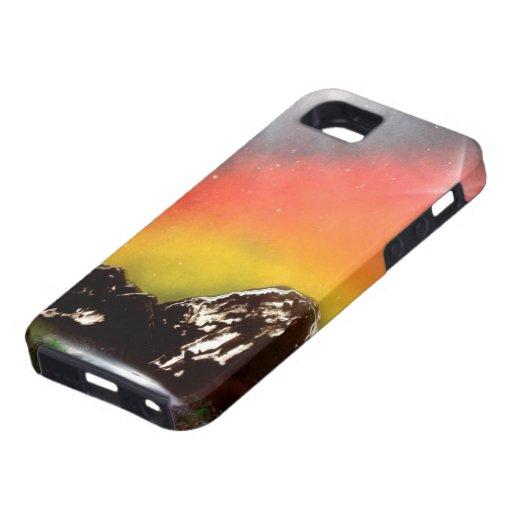 Caídas de la montaña iPhone 5 Case-Mate coberturas