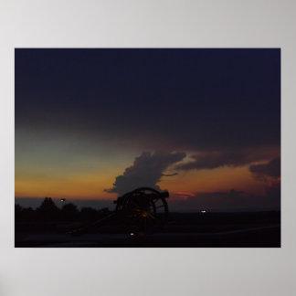 caídas de la noche póster