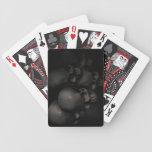 Caídas de la oscuridad barajas de cartas
