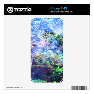 Caídas de la tranquilidad skin para el iPhone 4