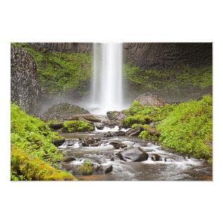 Caídas de Latourell garganta del río Columbia Or Impresión Fotográfica