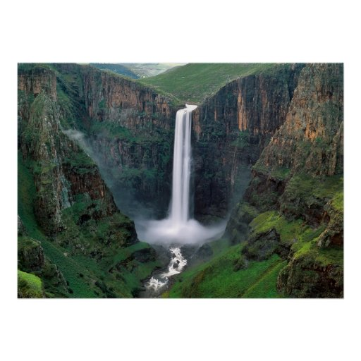 Caídas de Lesotho Posters