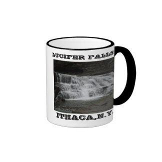 CAÍDAS de LUCIFER, ITHACA, N.Y.mug Tazas De Café