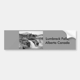 Caídas de Lumbreck Pegatina Para Auto