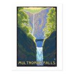 Caídas de Multnomah, OregonMaiden de las caídas Postales