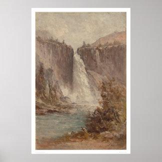 Caídas de Nevada, Yosemite (1252) Posters