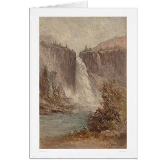 Caídas de Nevada, Yosemite (1252) Felicitacion
