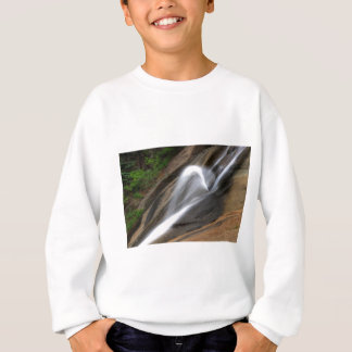 Caídas de plata de la cascada sudadera