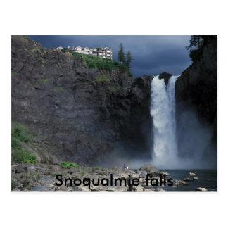 Caídas de Snoqualmie Postales