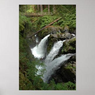 Caídas de Solduc, estado de Washington Impresiones
