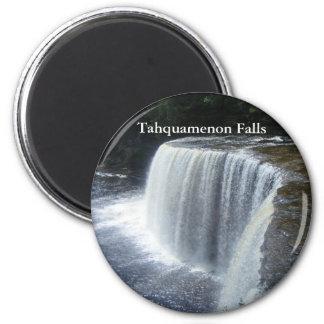 Caídas de Tahquamenon, paraíso, Michigan Imanes