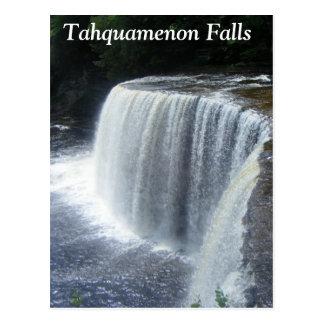 Caídas de Tahquamenon, paraíso, Michigan Postal
