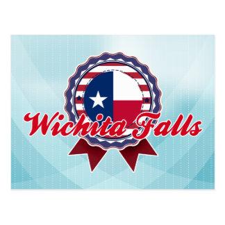 Caídas de Wichita, TX Tarjeta Postal