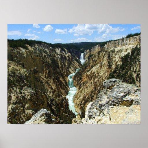 Caídas de Yellowstone Póster