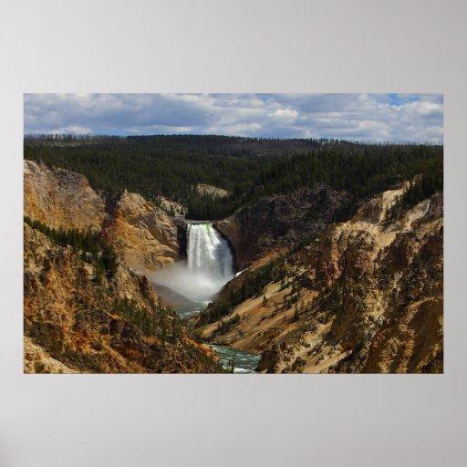 Caídas de Yellowstone Posters