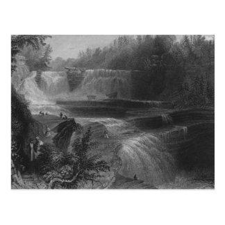 Caídas del alto de Trenton, 1838 Postal