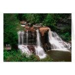 Caídas del Blackwater, Virginia Occidental, escéni Tarjeta De Felicitación