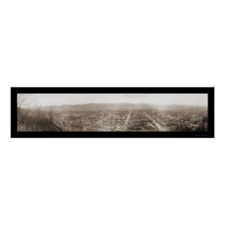 Caídas del castor, foto 1909 del PA Póster