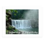 Caídas del Cumberland, Kentucky Tarjeta Postal