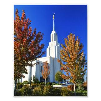 Caídas del gemelo, templo de Idaho LDS Cojinete