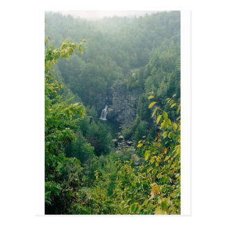 caídas del linville tarjeta postal